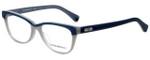 Emporio Armani Designer Eyeglasses EA3015-5109-53 in Dust Blue 53mm :: Custom Left & Right Lens