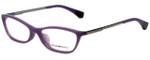 Emporio Armani Designer Eyeglasses EA3014F-5128 in Opal Violet 54mm :: Rx Single Vision