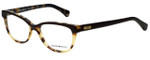 Emporio Armani Designer Eyeglasses EA3015-5107-53 in Havana Brown 53mm :: Rx Single Vision