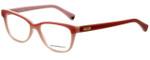 Emporio Armani Designer Eyeglasses EA3015-5110 in Pink 53mm :: Custom Left & Right Lens