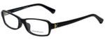 Emporio Armani Designer Eyeglasses EA3016-5017-51 in Black 51mm :: Custom Left & Right Lens