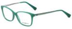 Emporio Armani Designer Eyeglasses EA3026-5213 in Pearl Green 54mm :: Custom Left & Right Lens