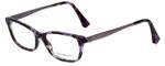 Emporio Armani Designer Eyeglasses EA3031-5226-53 in Violet Havana 53mm :: Custom Left & Right Lens