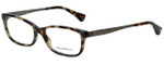 Emporio Armani Designer Eyeglasses EA3031-5234 in Havana 55mm :: Custom Left & Right Lens