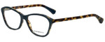 Emporio Armani Designer Eyeglasses EA3040-5268 in Petroleum on Havana 55mm :: Custom Left & Right Lens