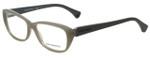 Emporio Armani Designer Eyeglasses EA3041-5258 in Opal Grey 55mm :: Custom Left & Right Lens