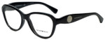 Emporio Armani Designer Eyeglasses EA3047-5017 in Black 54mm :: Custom Left & Right Lens