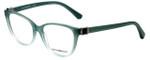 Emporio Armani Designer Eyeglasses EA3077-5460 in Green Gradient 52mm :: Custom Left & Right Lens