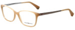 Emporio Armani Designer Eyeglasses EA3026-5087 in Pearl Peach 54mm :: Rx Single Vision