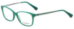Emporio Armani Designer Eyeglasses EA3026-5213 in Pearl Green 54mm :: Rx Single Vision