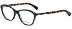 Emporio Armani Designer Eyeglasses EA3040-5268 in Petroleum on Havana 55mm :: Rx Single Vision