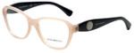 Emporio Armani Designer Eyeglasses EA3047-5327 in Opal Pink 54mm :: Rx Single Vision