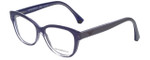 Emporio Armani Designer Eyeglasses EA3033-5225 in Transparent Lilac 53mm :: Rx Bi-Focal