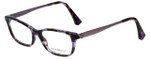 Emporio Armani Designer Reading Glasses EA3031-5226-53 in Violet Havana 53mm