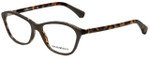 Emporio Armani Designer Reading Glasses EA3040-5265 in Top Turtledove on Havana 53mm