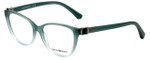 Emporio Armani Designer Reading Glasses EA3077-5460 in Green Gradient 52mm