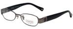 Coach Designer Eyeglasses HC5002B-9025 in Dark Silver 49mm :: Custom Left & Right Lens