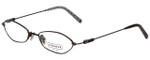 Coach Designer Eyeglasses HC113-246 in Coffee 49mm :: Rx Single Vision