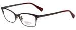Coach Designer Eyeglasses HC5041-9141-53 in Satin Burgundy/Satin Dark Silver 53mm :: Custom Left & Right Lens