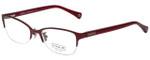Coach Designer Eyeglasses HC5046-9134 in Satin Burgundy 52mm :: Progressive