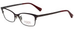 Coach Designer Eyeglasses HC5041-9141-51 in Satin Burgundy/Satin Dark Silver 51mm :: Rx Bi-Focal