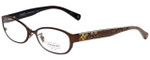 Coach Designer Reading Glasses HC5029-9076 in Satin Brown 53mm