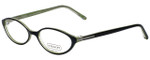 Coach Designer Eyeglasses HC537-018 in Black/Grass 51mm :: Rx Bi-Focal