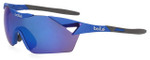Bollé Sunglasses: 6th Sense in Matte Navy with Blue Violet Mirror Lens