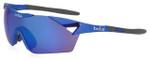 Bollé Sunglasses: 6th Sense in Matte Navy with Blue Violet Mirror Lens