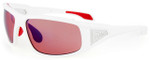Bollé Sunglasses: Diablo in Shiny White with Rose Lens