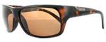 Bollé Polarized Sunglasses: Viper in Shiny Tortoise with Amber Lens
