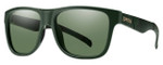 Smith Optics Lowdown XL Sunglasses in Matte Olive Camo with Polarized Grey Green