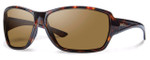 Smith Optics Pace Sunglasses in Tortoise with Polarized Brown Lens