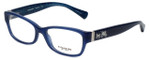 Coach Designer Eyeglasses HC6078-5397 in Milky Navy 52mm :: Rx Bi-Focal