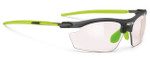 Rudy Project Rydon Sunglasses in Frozen Ash with Photochromic Clear to Red Lens
