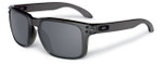 Oakley Designer Sunglasses Holbrook OO9102-24 in Smoke with Black Iridium Lens