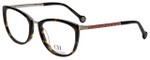 Carolina Herrera Designer Eyeglasses VHE092-0579 in Tortoise 52mm :: Progressive
