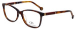 Carolina Herrera Designer Eyeglasses VHE672-0752 in Tortoise 52mm :: Progressive