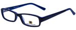 Body Glove Designer Eyeglasses BB128 in Black Blue KIDS SIZE :: Custom Left & Right Lens