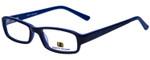 Body Glove Designer Eyeglasses BB128 in Black Blue KIDS SIZE :: Custom Left & Right Lens