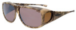 Jonathan Paul® Fitovers Eyewear X-Large Aviator Kryptek in Highlander & Amber
