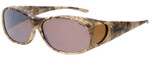 Jonathan Paul® Fitovers Eyewear Medium Element Kryptek in Highlander & Amber