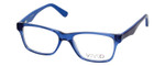 Calabria Viv 820 Designer Eyeglasses in Blue :: Rx Single Vision