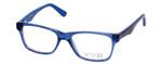 Calabria Viv 820 Designer Eyeglasses in Blue:: Custom Left & Right Lens