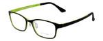 Calabria Viv 2001 Designer Eyeglasses in Black Green :: Custom Left & Right Lens