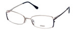 Fendi Designer Eyeglasses F960-030 in Nickel 52mm :: Custom Left & Right Lens