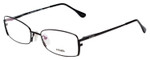Fendi Designer Eyeglasses F960-001 in Black 52mm :: Custom Left & Right Lens