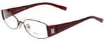 Fendi Designer Eyeglasses F606R-210 in Bordeaux 54mm :: Rx Single Vision