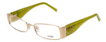 Fendi Designer Eyeglasses F923R-714 in Gold Green 52mm :: Rx Single Vision
