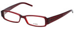 Fendi Designer Eyeglasses F664-618 in Deep Red 51mm :: Rx Single Vision